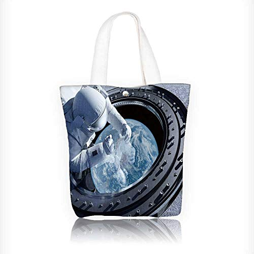 Canvas Tote Bags New york city Brooklyn bridge downtown at night Design Your Own Party Favor Pack Tote Canvas Bags by Big Mo's Toys W16.5xH14xD7 INCH ()