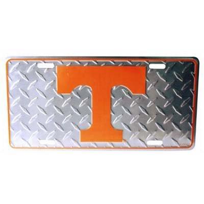 NCAA Tennessee Volunteers Diamond Plate Car (Tennessee Volunteers Truck)