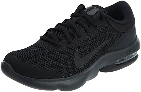 Nike Womens AIR MAX Advantage, Black Anthracite, 8