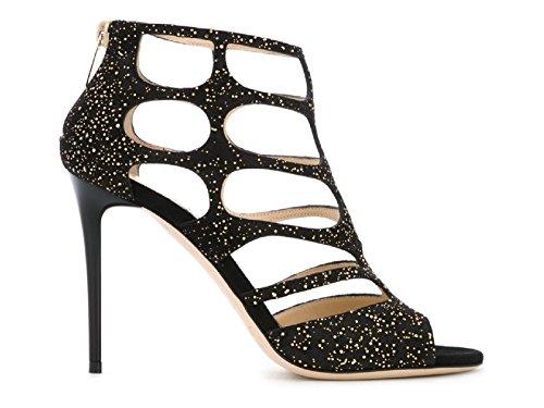 Sandaletten Jimmy Schwarz Wildleder REN100UOP164 Modellnummer schwarzem aus Choo gqqr5wRA