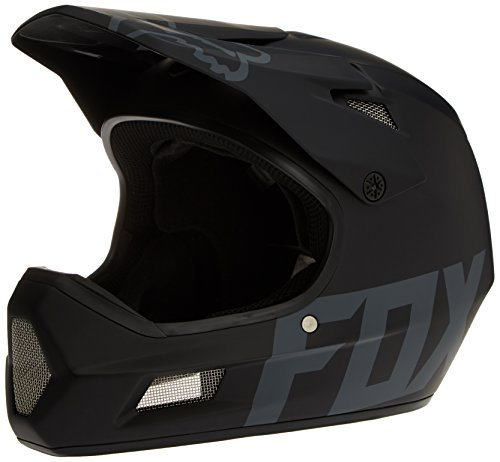 Freeride Bike Frames - Fox Racing Rampage Comp DH Helmet: Matte Black XL