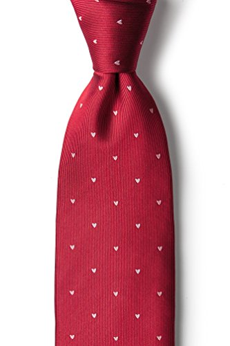 Alynn Novelty Red Silk Ties - 9
