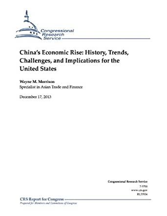 chinas economic rise wayne morrison China's currency: an analysis of the economic issues wayne m morrison  an analysis of the economic issu.