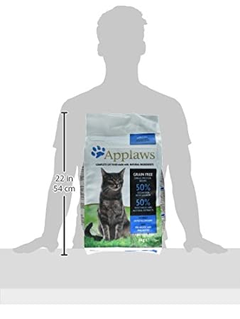 Applaws Comida Seca Gatos Adultos, Pescado y salmón: Amazon.es: Productos para mascotas