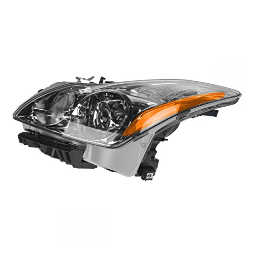 Headlight Headlamp LH Left Driver Side for Infiniti G37 G37X Coupe Convertible