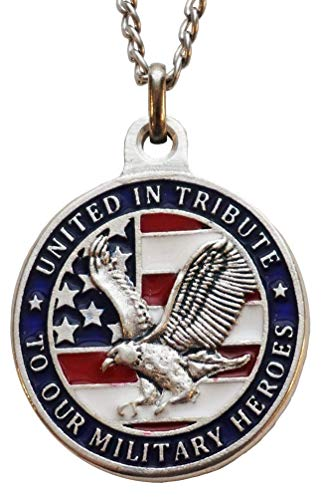 (The Christian Mint, LLC United-In-Tribute Patriotic Medal with Capsule of Omaha Beach Sand (D-Day))