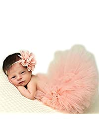 Newborn Baby Photo Props Tutu Dress Outfits Photography Shoot Clothing for Girls