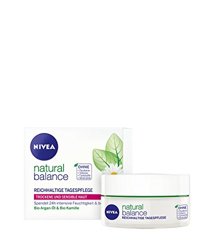 Genuine German Nivea Natural Balance Rich Day Cream for Dry - Import It All