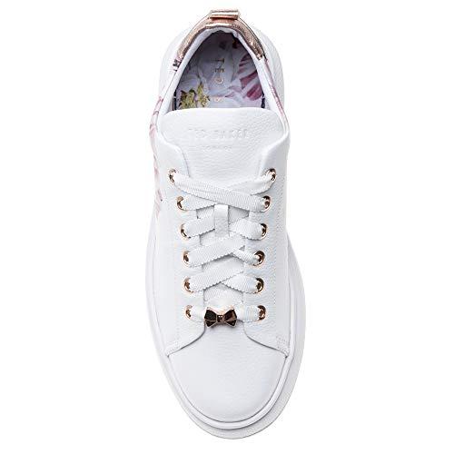 White Ted Femme Mode Blanc Baskets 2 Baker Ailbe qqA6xP8z