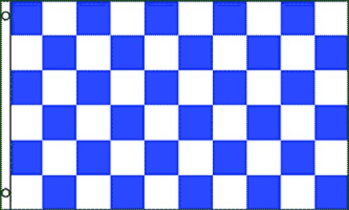 Blue & White Checkered Flag 3x5ft -