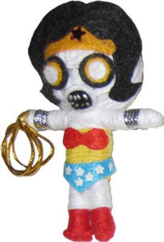 Original Wonder Woman DC Comics Zombie String Doll Keychain (Toy Wonders Inc)