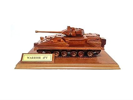 Warrior tracked armoured vehicle APC - British Army / Military