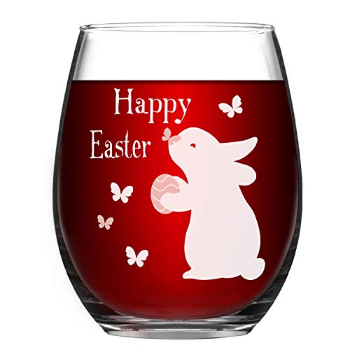Easter wine Glasses - Funny Easter Gifts -