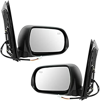 New Driver /& Passenger Side Power Mirror Set w// Signal For 12-15 Toyota Tacoma