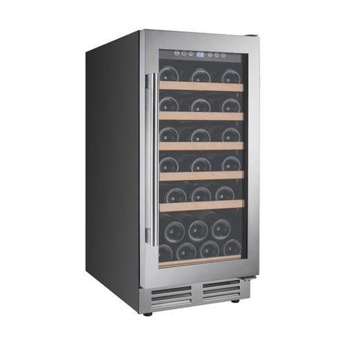- Avanti WCF281E3SS 28 Bottle Designer Series Wine Chiller with Seamless Door