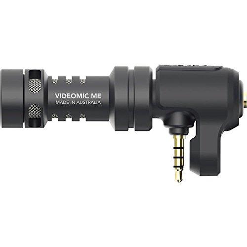 Rode VideoMic Me Compact TRRS Cardioid Mini-Shotgun Microphone for Smartphones