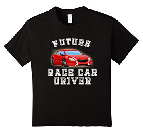 Kids Future Race Car Driver Costume T-Shirt for Adults and Kids 8 ()