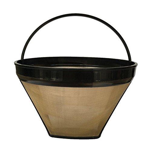 Bestwoo Coffee Washable and Reusable #4 Cone Ninja Coffee Filter for Ninja Coffee Bar Brewer ...