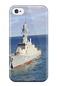 Hot DXVcbPj5601Zwuzb Russia Navy Warship Ship War Star Uglich Tpu Case Cover Compatible With Iphone 4/4s