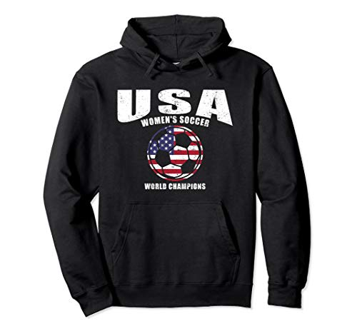 USA United States Women 2019 Hoodie Sweatshirt Soccer Hoody (Team Usa Shop Com)
