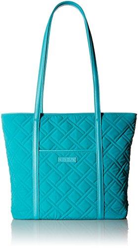 - Vera Bradley Small Trimmed Vera, Sea Turquoise