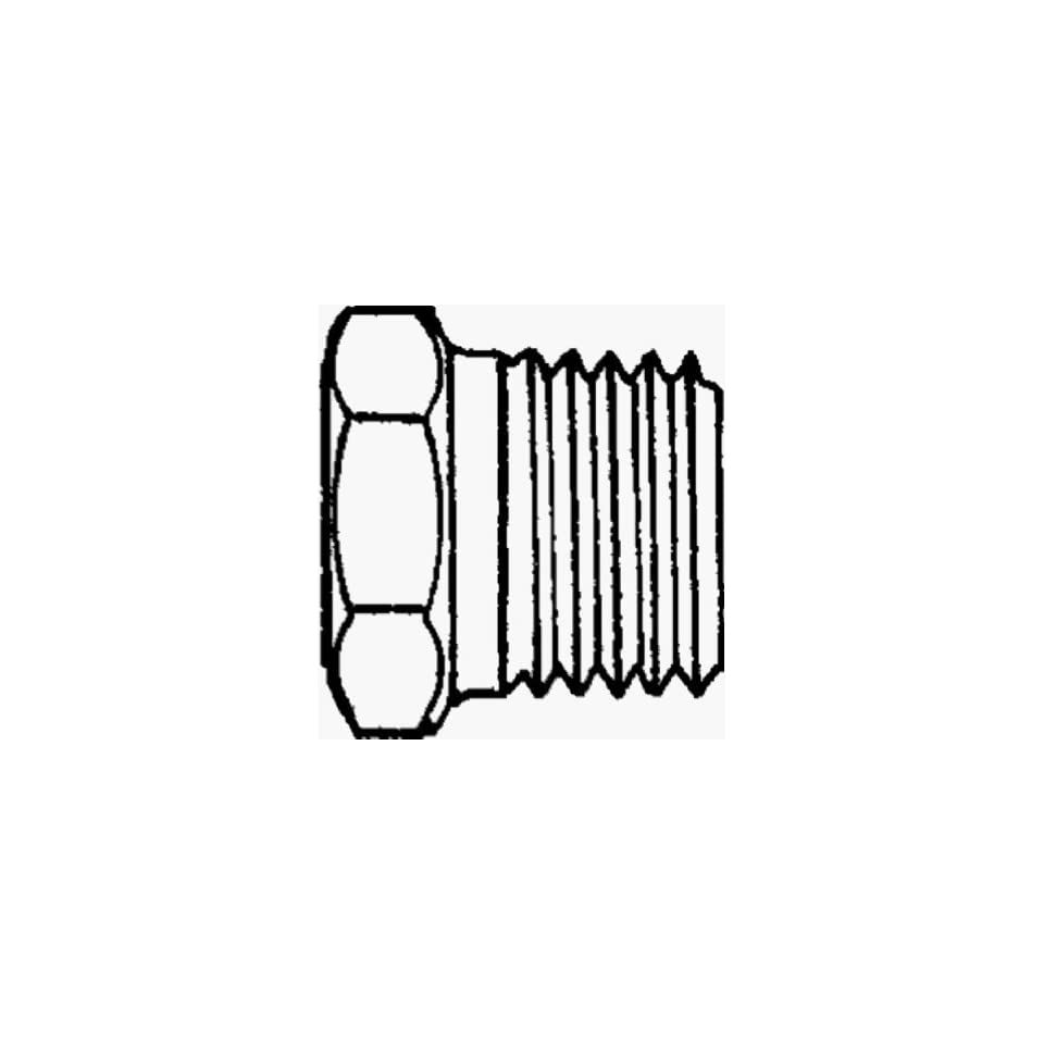 Anderson Metals Corp 3/4X1/4 Brs Hex Bushing (Pack Of 5 Brass Pipe Coupling Reducers & Bushings