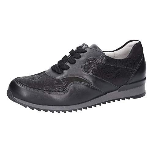 Ville Pour Lacets À De Chaussures Waldläufer Noir Femme 6TEqHZxO