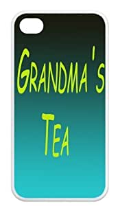 Grandma's tea Back Cover for iPhone 4,iPhone 4s cases