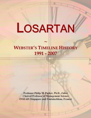 Losartan  Websters Timeline History  1991   2007