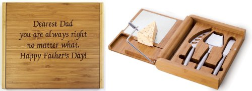 (Soiree Cheese Board Set - You Are Always Right - Father's Day Gift)