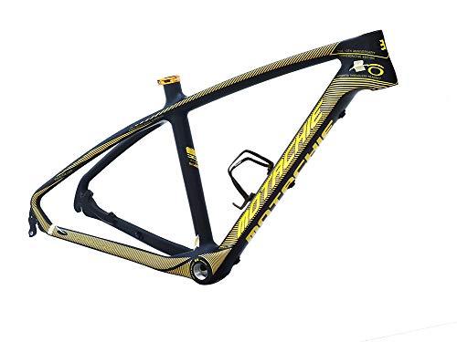 56c000398cf Bikeco Carbon Fiber Mountain Bicycle Frame Full Carbon Lightweight MTB  Frame Mountain Bike Frame 26er MTB Matte Black Bicycle Frame Internal Cable  Routing
