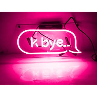 k bye neon sign do it yourself store