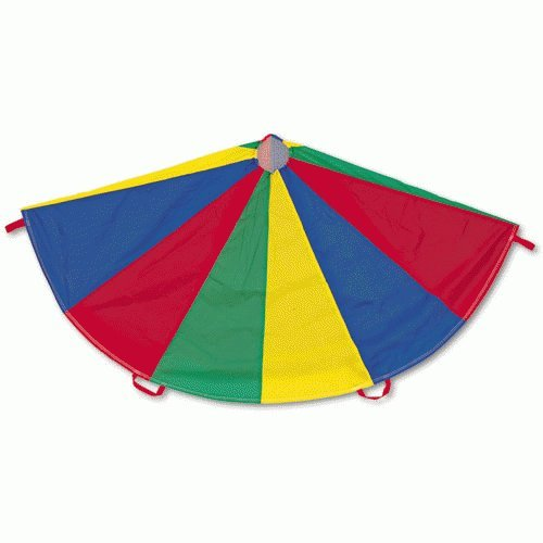 NEW CHAMPION SPORT NP24 Nylon Multicolor Parachute, 24-ft. diameter, 20 Handles ^G#fbhre-h4 8rdsf-tg1323181 (Parachute 24 Diameter 20 Handles)