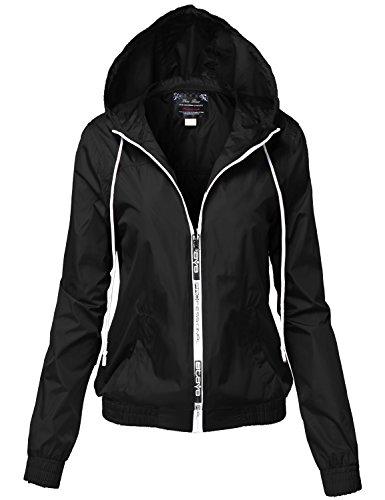 Junior Size Thin Water Resistant Garment Rain Wind Jackets