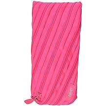 ZIPIT Neon Pencil Case, Dazzling Pink