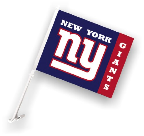 Football Car Flag - NFL New York Giants Car Flag