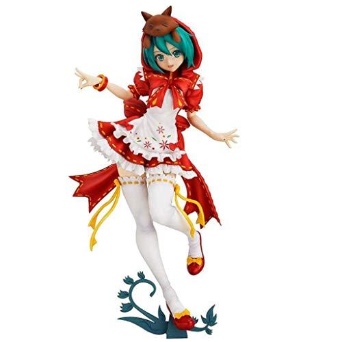 Hatsune Miku Vocaloid : Hatsune Miku Little Red Riding Hood Version PVC Figure ()
