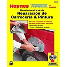 Haynes Reparación de Carroceria and Pintura Spanish Repair Manual (98903)