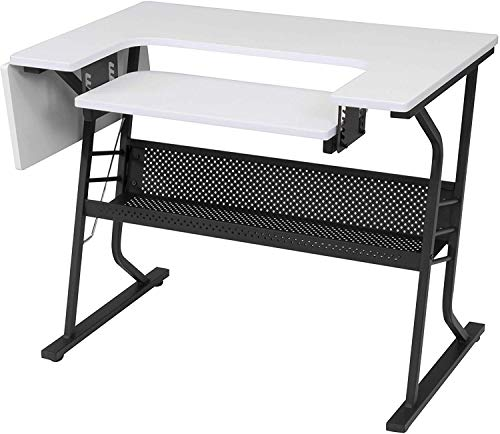 Eclipse Sewing Machine Table White