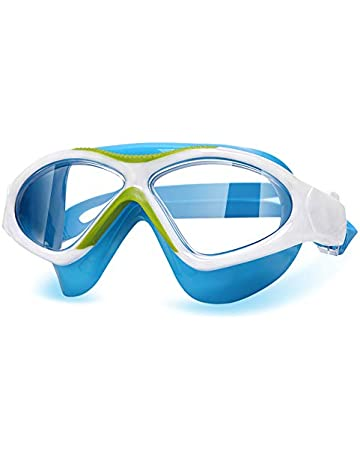 2f6aacd9a86 Peacoco Kids Swim Goggles Swimming Glasses for Children Boys Girls from 3  to 15