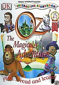 DK Interactive Storybook Oz The Magical Adventure