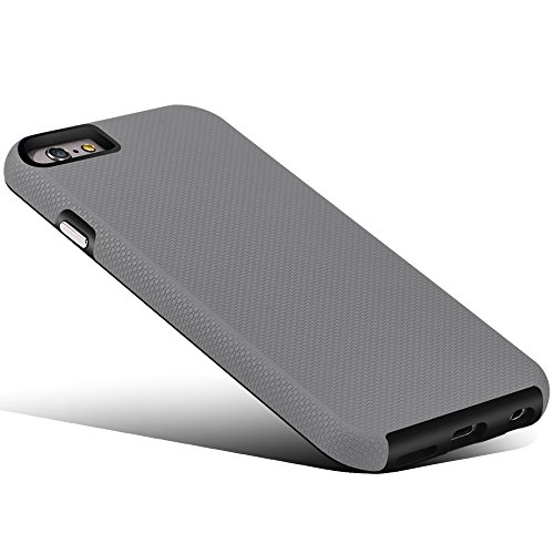 CellEver Compatible with iPhone 6 / 6s Case, Dual Guard Protective Shock-Absorbing Scratch-Resistant Rugged Drop…