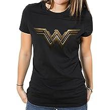 Wonder Woman Movie Logo Women's T-shirt Black