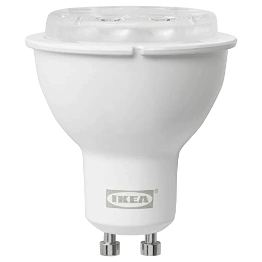 TRADFRI Bombilla LED GU10 400 Lúmenes Inalámbrico Regulable Espectro Blanco