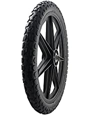 """Marathon 92010 Flat Free 20"""" Replacement Tire Assembly for Rubbermaid Big Wheel Carts"""