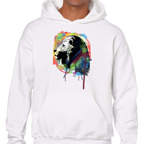 M Positivos Capucha Sudaderas Colors Lion w6aq6A