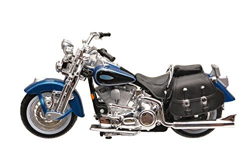Harley Toy (1/24 Maisto Harley Davidson 2001 FLSTS Heritage Springer Harley Davidson die-cast motorcycle model [parallel import goods])