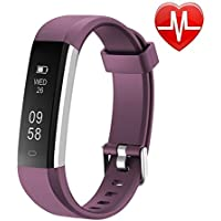 Letsfit Fitness Tracker HR, Sports Fitness Watch with...