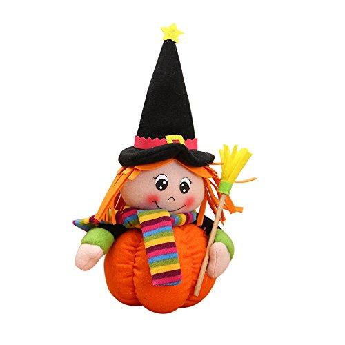 iLH Girl Doll,ZYooh Children Plush Pumpkin Toy Dolls 11