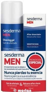 Sesderma Men PACK Gel de Afeitado Hombre, 200ml+ Bálsamo After ...